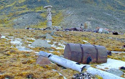 Военные экологи отправились очищать от мусора остров Врангеля