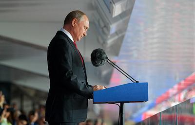 Путин не сможет посмотреть матч РФ-Египет, но будет следить за ним по новостям