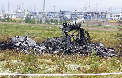 Власти Красноярского края начали выплаты родственникам погибших в крушении вертолета Ми-8