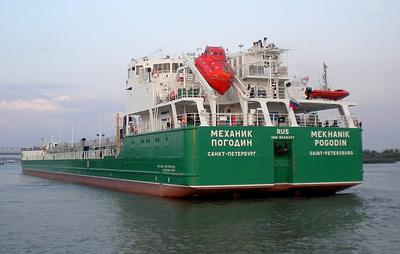 """На Украине заявили, что судно """"Механик Погодин"""" заблокировали в порту Херсона на три года"""