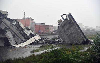 СМИ: число жертв обрушения моста в Генуе достигло 43