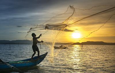 Пакистанские рыбаки столкнулись с сокращением улова