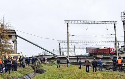 Движение на участке Транссиба, где обрушился мост, полностью восстановлено