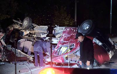 Более 10 человек погибли в ДТП с автобусом в Чувашии