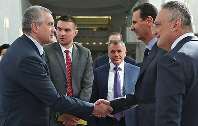 Асад пообещал лично поддержать совместные проекты с Крымом