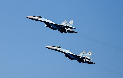 Российские истребители за неделю восемь раз поднимались на перехват у границ РФ