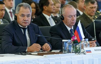 Шойгу призвал страны АСЕАН и их партнеров присоединиться к усилиям по восстановлению Сирии