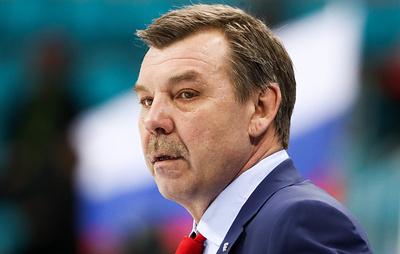 "Знарок провел тренировку латвийского хоккейного клуба ""Земгале"""