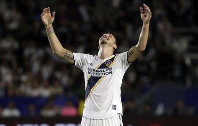 """Гол Ибрагимовича в ворота """"Лос-Анджелеса"""" признали лучшим в MLS по итогам сезона"""