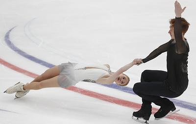 Тарасова и Морозов выиграли этап Гран-при по фигурному катанию в Москве