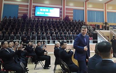 Россия и КНДР договорились о расширении молодежных обменов