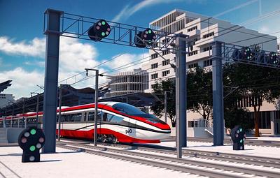 РЖД разработали концепт первого российского высокоскоростного поезда