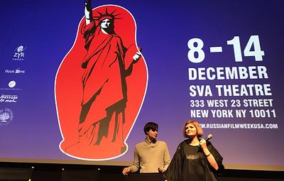 Премьера фильма Авдотьи Смирновой о Льве Толстом прошла в Нью-Йорке