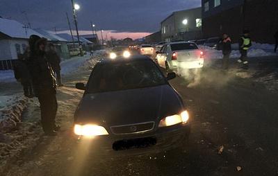 В Омске водитель иномарки сбил четверых пешеходов