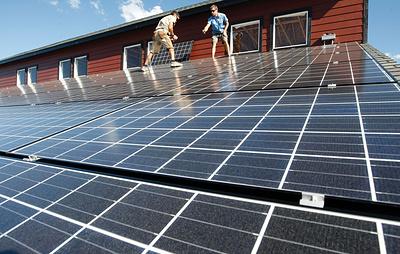 В Калифорнии приняли закон, обязывающий оснащать новые дома солнечными панелями