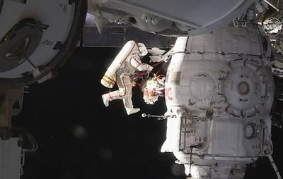 Космонавт Прокопьев назвал выход в открытый космос непростым и поблагодарил за поддержку