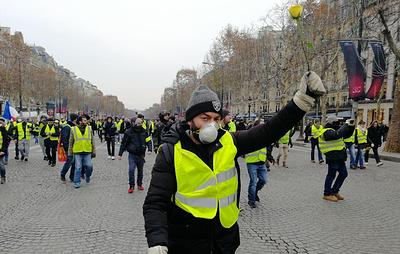 Протесты в Париже пошли на спад и приобретают политический окрас