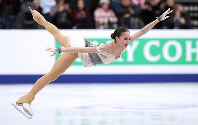 Алина Загитова лидирует после короткой программы на чемпионате Европы