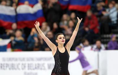 Фигуристка Самодурова удовлетворена короткой программой на чемпионате Европы