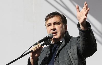 Саакашвили заявил, что безвизовый режим с ЕС уничтожает Украину