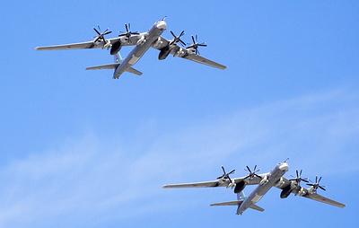 Два Ту-95МС выполнили плановый полет