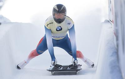 Российский скелетонист Третьяков стал первым на этапе Кубка мира в США