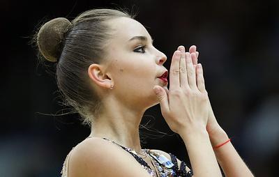 Дина Аверина победила в многоборье на этапе Гран-при по художественной гимнастике в Москве