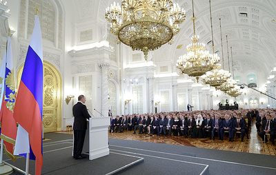 О чем говорили президенты РФ в посланиях Федеральному собранию