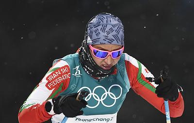Иранскую лыжницу-архитектора Бахер на родине критикуют за слабые результаты