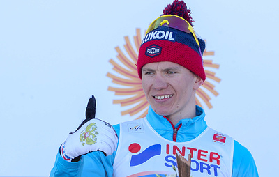 Лыжник Большунов стал вторым в скиатлоне на чемпионате мира