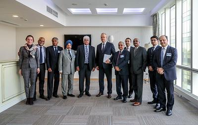 В Москву приехала делегация крупнейших промышленных компаний Индии
