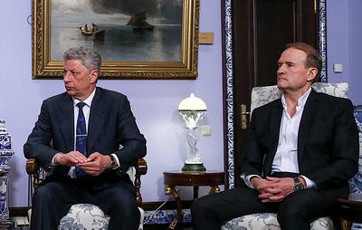 СБУ собирается дать правовую оценку визиту Бойко и Медведчука в Россию