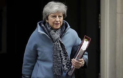 Мэй: Великобритания выбирает между сделкой по Brexit и сохранением членства в ЕС