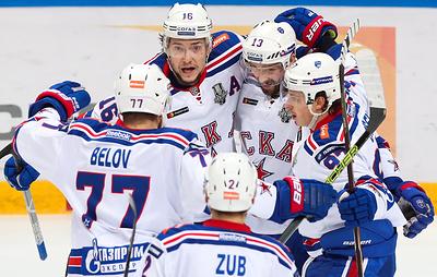 СКА в третий раз стал бронзовым призером чемпионата России по хоккею