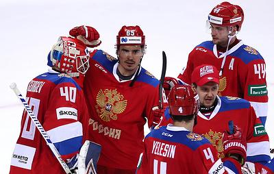 Воробьев: сборная России по хоккею в матчах Еврочелленджа исходит из плана игры на ЧМ