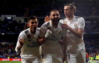 """СМИ: футбольный клуб """"Реал"""" продлит контракт с Adidas на 12 лет на €1,6 млрд"""