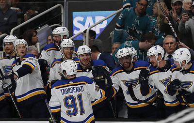 "Нападающий ""Сент-Луиса"" Тарасенко признан второй звездой дня в НХЛ"
