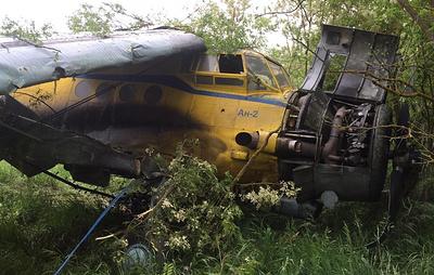 Самолет Ан-2 загорелся при взлете на Ставрополье