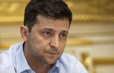 Зеленский призвал МВД Украины не применять меры против политических протестующих
