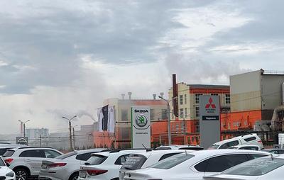 На Челябинском цинковом заводе объяснили выброс пара технологической процедурой