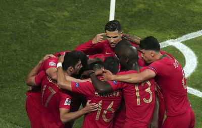 Сборная Португалии по футболу стала первым победителем Лиги наций