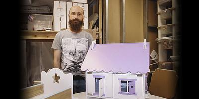Кукольное домостроение. Как инженер из Иванова открыл мастерскую игрушек