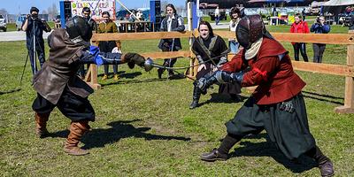 Средневековая эстетика. На Европейских играх представят историческое фехтование