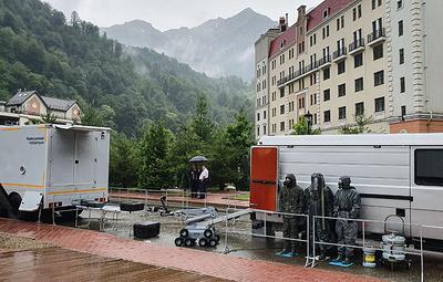 Роспотребнадзор в Сочи продемонстрировал возможности бригад по обеспечению биобезопасности
