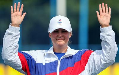 Чемпионка мира лучница Авдеева не считает серебро Европейских игр следствием недонастроя