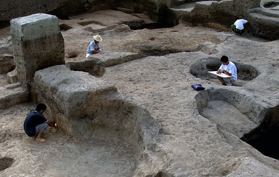 На востоке Китая нашли гробницу периода династии Юань