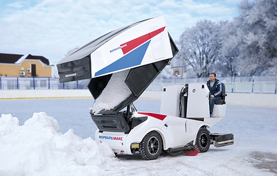 Российские компании договорились выпустить первый ледовый комбайн на электродвигателе