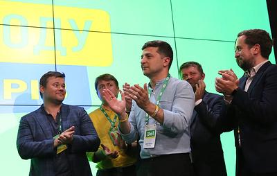 Партия Зеленского набирает на выборах в Раду 50,37%