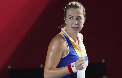 Россиянка Павлюченкова вышла во второй круг теннисного турнира в Торонто