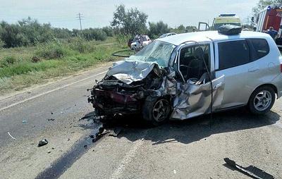 Пять человек погибли в ДТП в Астраханской области